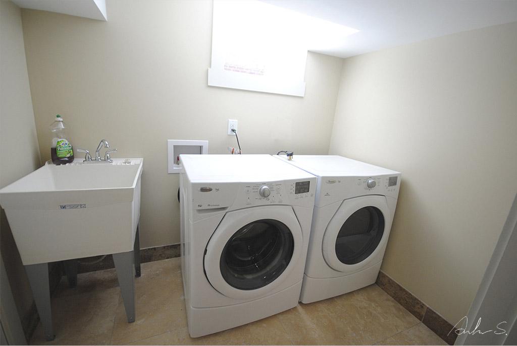 bsmt laundry