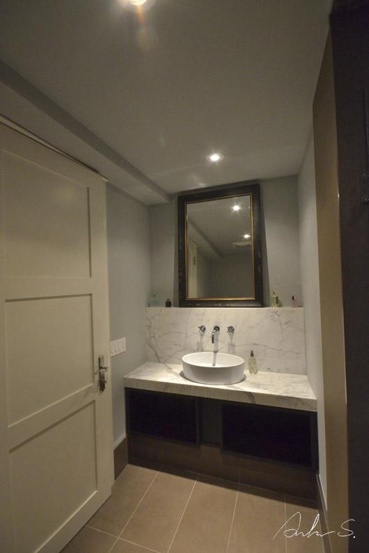 enter bathroom A1